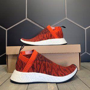 New W/O Box! Adidas CS2 Primeknit Red Glitch